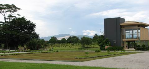 The Cibinong Karst from Eco Park