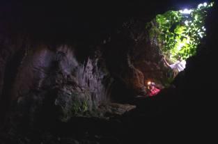 The Entrance of Gua Cikaray, Cibinong