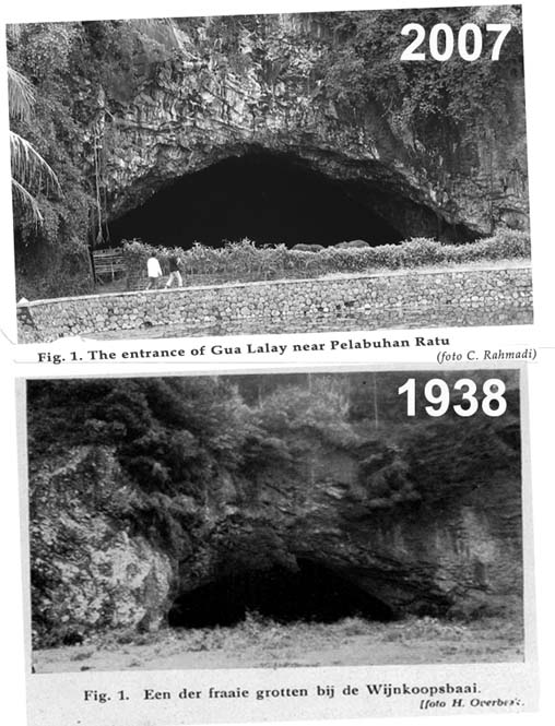 Gua Lalay, past and recent