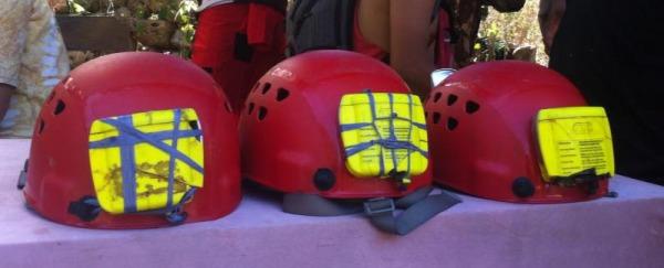 Helm caving yang berakhir cukup mengenaskan